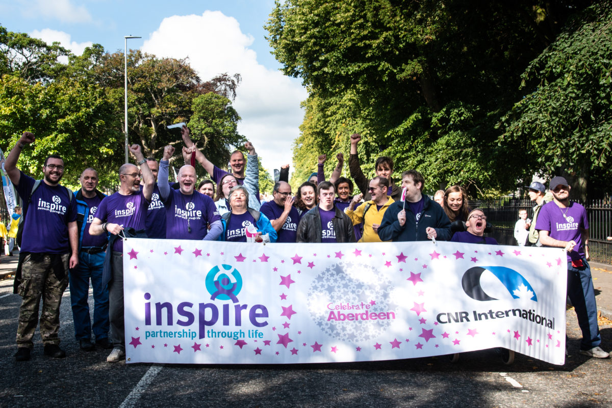 Inspire Celebrate Aberdeen parade