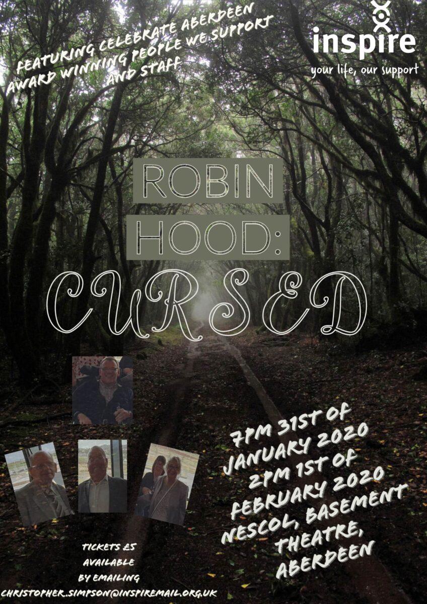 Robin Hood Poster Inspire